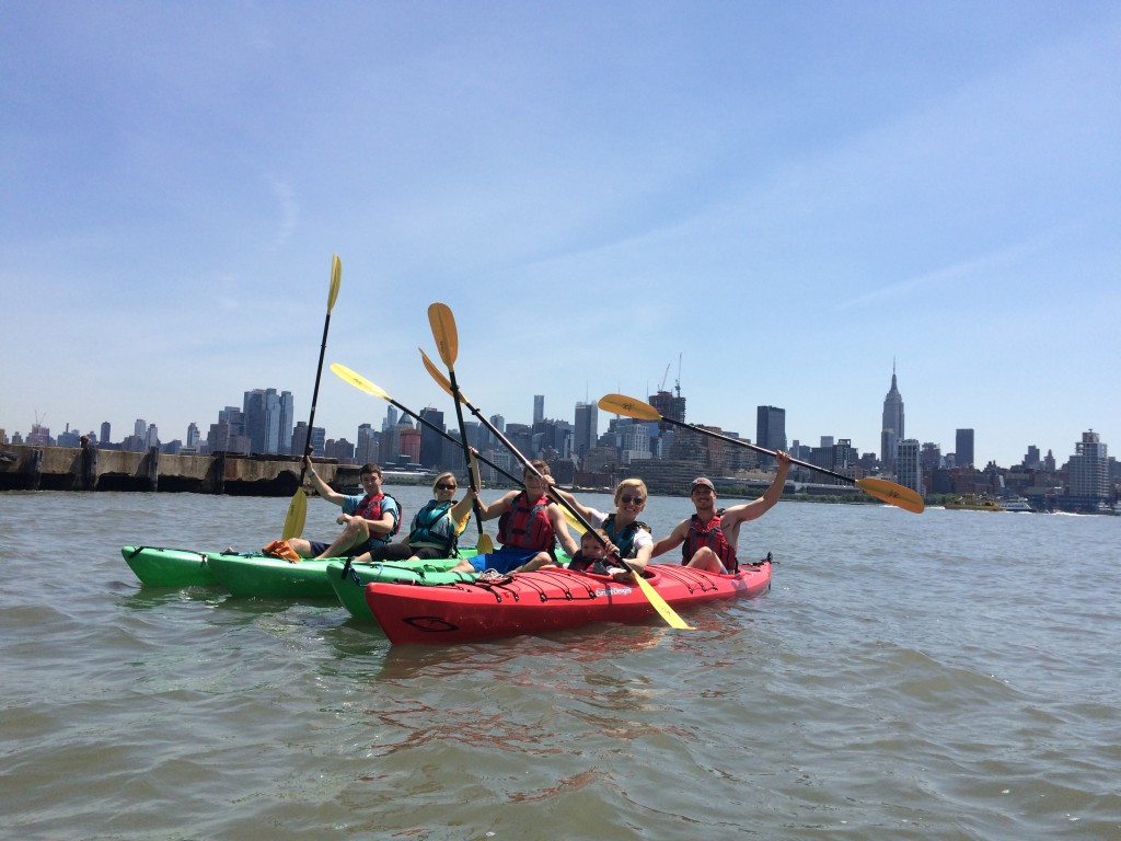 Manhattan Skyline Kayak Tour!